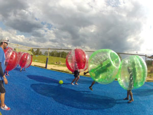 Bubble soccer - you're doing it right